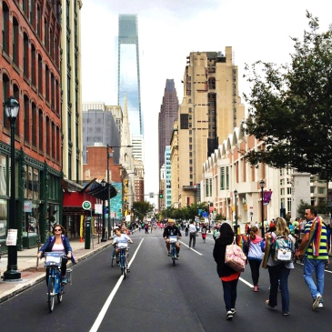 Open Streets Philly, September 2015
