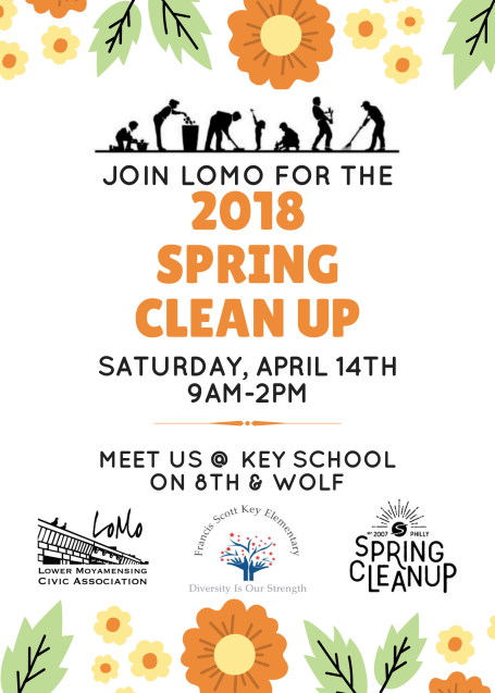4142018 Spring Clean Up
